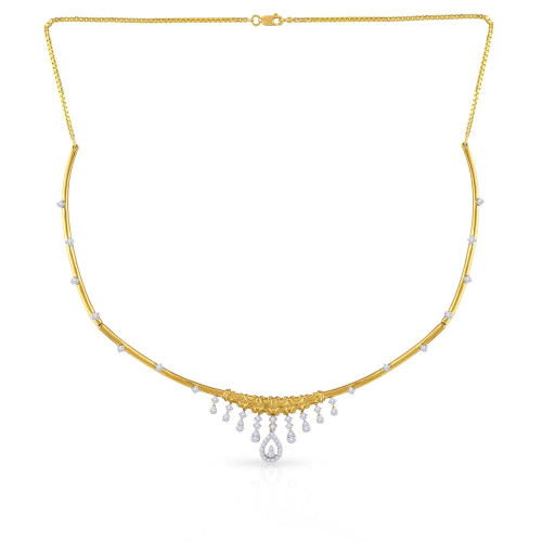 Mine Diamond Necklace MNGNNK0456