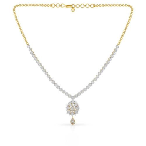 Mine Diamond Necklace MNBDNK0981