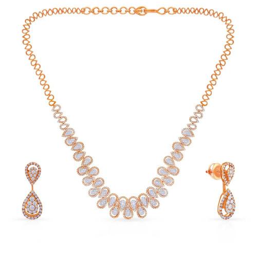Mine Diamond Necklace MNBDNK0977