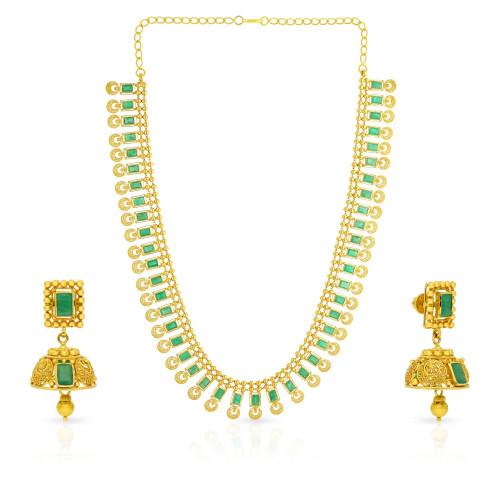 Precia Gemstone Necklace Set NSPGNTRA1102NK2