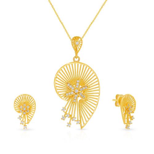 Malabar Gold Pendant Set PSPD035992