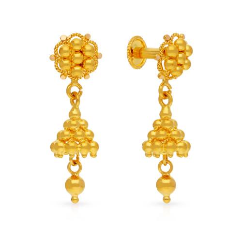 Malabar Gold Earring USEG037371