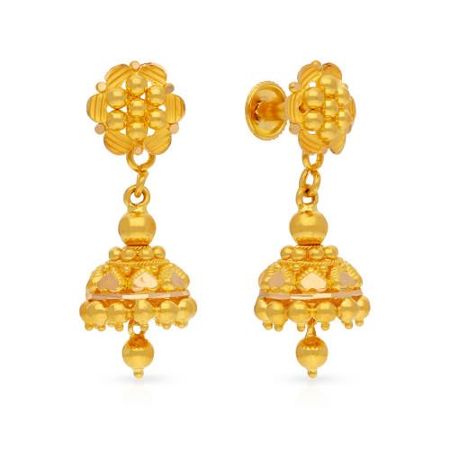 Malabar Gold Earring USEG037376
