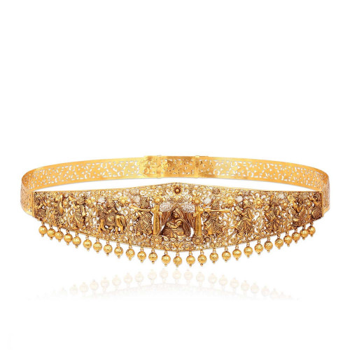 Telugu Bride Divine Waist Belt VODICDTRSFA002