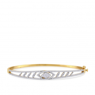 Mine Diamond Bangle MNGNBN0076