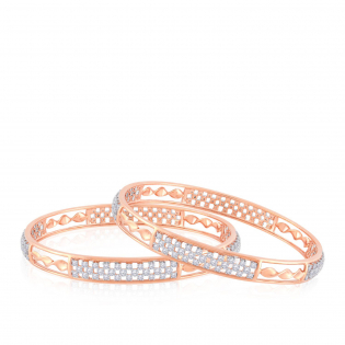 Mine Diamond Bangle Set BSBG105684