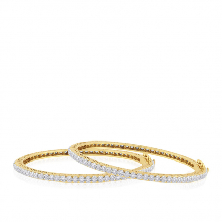 Mine Diamond Bangle Set BSBG281124
