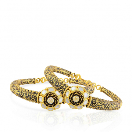 Ethnix Gold Bangle Set BSBG302299