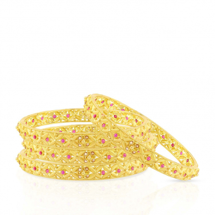 Malabar Gold Bangle Set BSUSBG013681