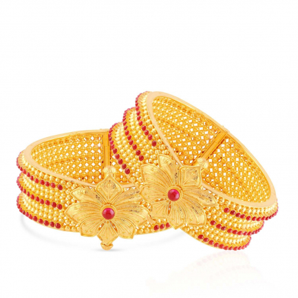 Divine Gold Bangle Set BSUSBG014392