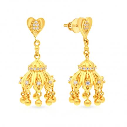 Malabar Gold Earring DZERBDSTNM