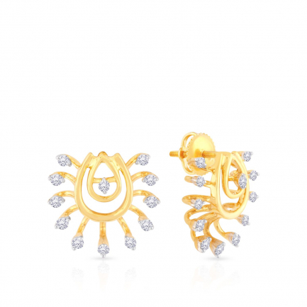Mine Diamond Earring EG153771_US