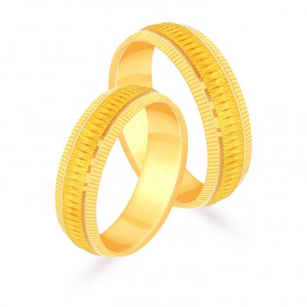 Malabar Gold Couple Bands EMRNCPL001LG