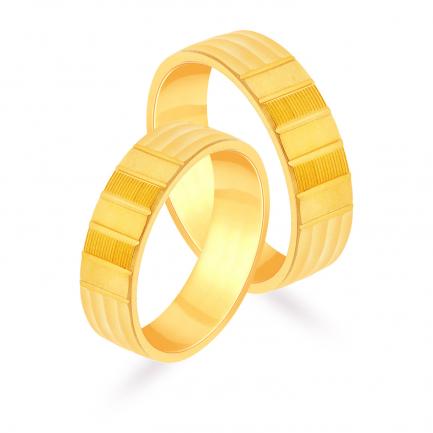 Malabar Gold Couple Bands EMRNCPL017LG