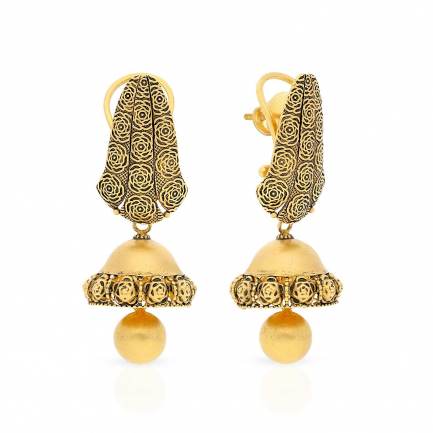Ethnix Gold Earring EXERSMPLPR