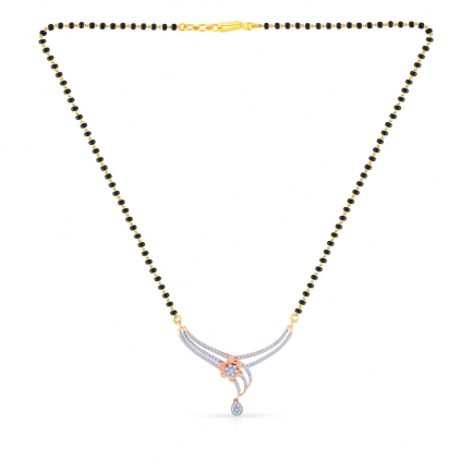 Mine Diamond Mangalsutra MNGNMS0777