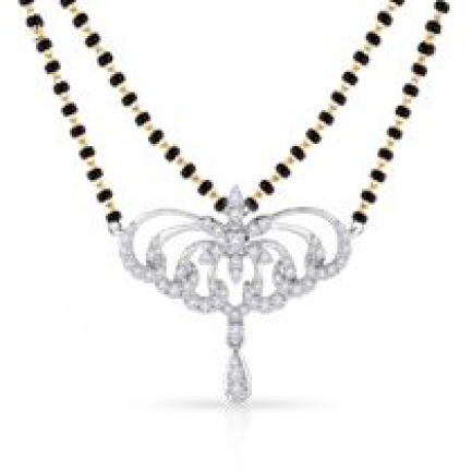 Mine Diamond Mangalsutra MS8461_US