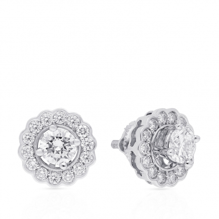 Mine Diamond Earring MSOHAL003ER1