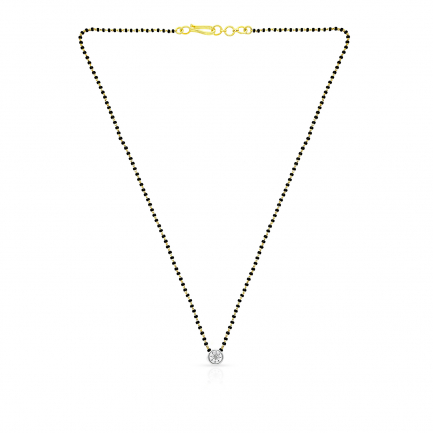 Mine Diamond Mangalsutra MSOOST002MS1