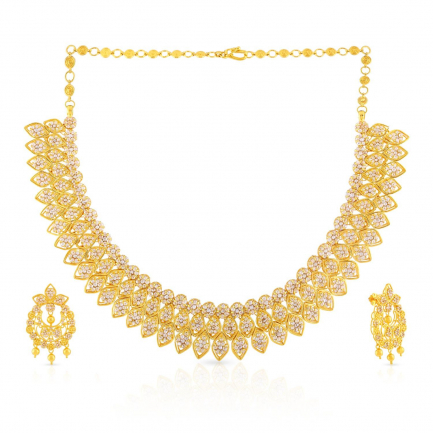 Era Uncut Diamond Necklace Set NSNK0032720