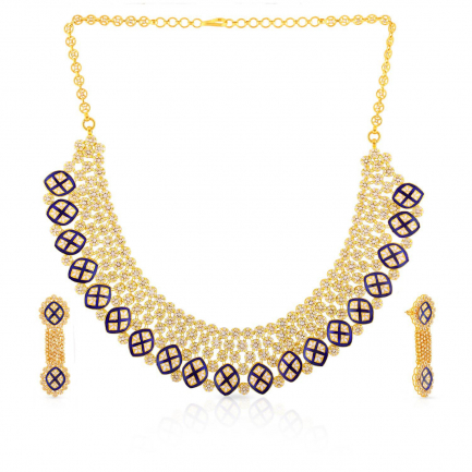 Era Uncut Diamond Necklace Set NSNK0037571