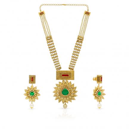 Malabar Gold Necklace Set NSNK036811