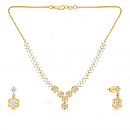 Mine Diamond Necklace NSMGNFLC048ER2