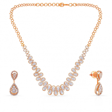 Mine Diamond Necklace MNBDNK0977
