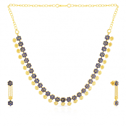 Precia Gemstone Necklace Set NSNK070728
