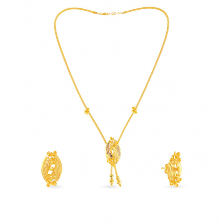 Malabar Gold Necklace Set NSNK208955