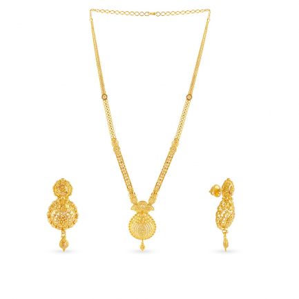 Malabar Gold Necklace Set NSNK264013