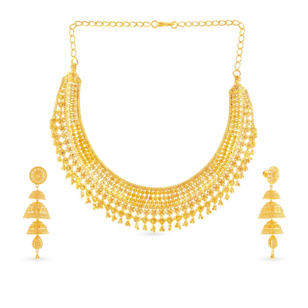 Malabar Gold Necklace Set NSNK264073