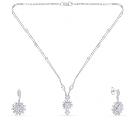 Mine Diamond Necklace NSMNEDER0027