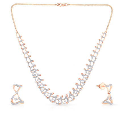 Mine Diamond Necklace NSMNGNER15532