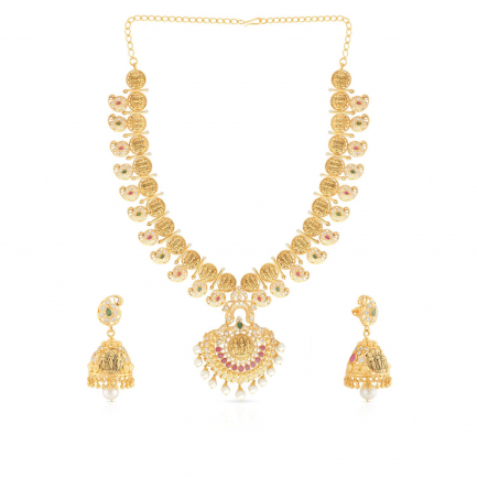 Precia Gemstone Necklace Set NSPGNPAT035NK2