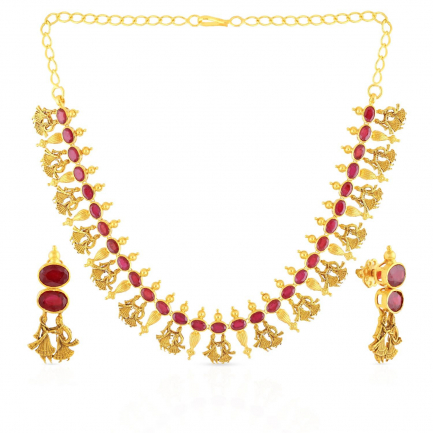 Precia Precious Necklace Set NSPGNVAH023NK2