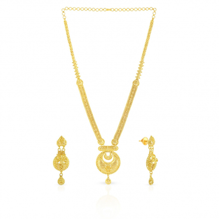 Malabar Gold Necklace set NSUSNK014923