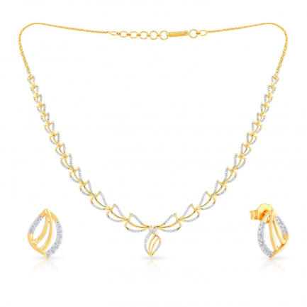 Mine Diamond Necklace Set NSUSNK120414