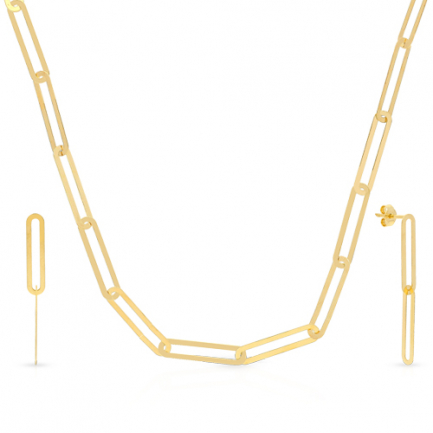 Malabar Gold Necklace Set NSZOFSHNK005