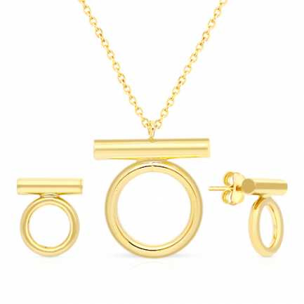 Malabar Gold Necklace Set NSZOFSHNK028