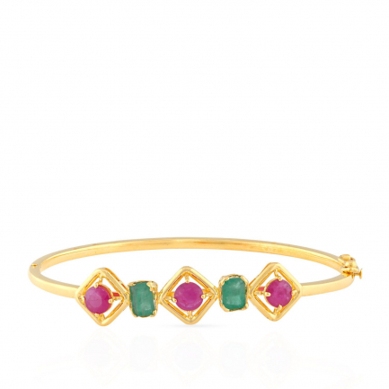 Precia Gemstone Bangle PGNCLA010BN1