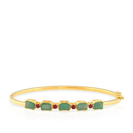Precia Gemstone Bangle PGNCLA011BN1
