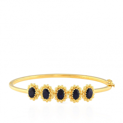 Precia Gemstone Bangle PGNCLA021BN1