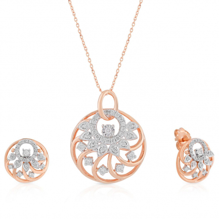 Mine Diamond Pendant Set USMGNPNG052PN5
