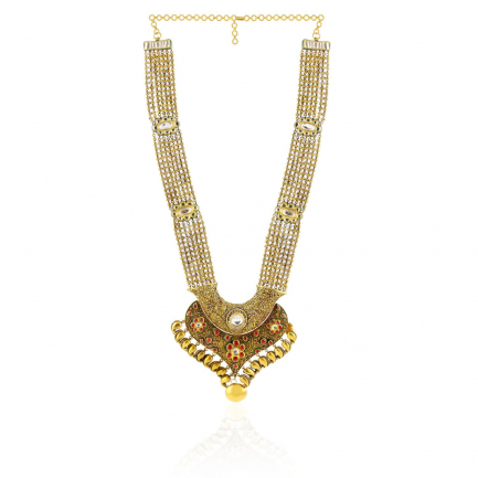 Ethnix Gold Necklace USNK014564