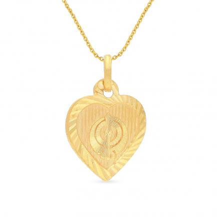 Malabar Gold Pendant USPD009899