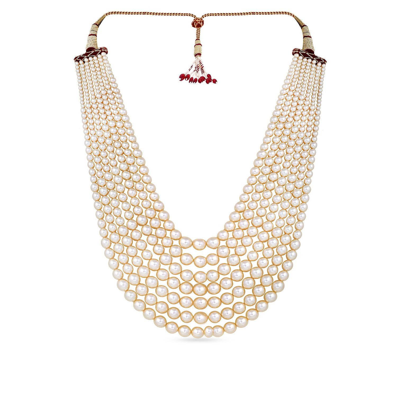Gujarati Bride Ethnix Gold Necklace AHDAAAAAIPLF