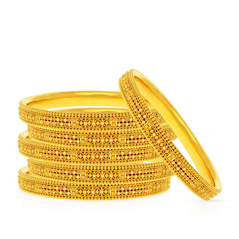 Malabar Gold Bangle Set BSBG038834