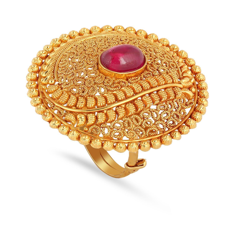 Marathi Bride Divine Ring FRDICDTRBRA006