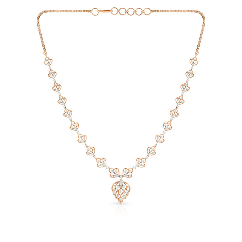Mine Diamond Necklace MGNGEN088NK2